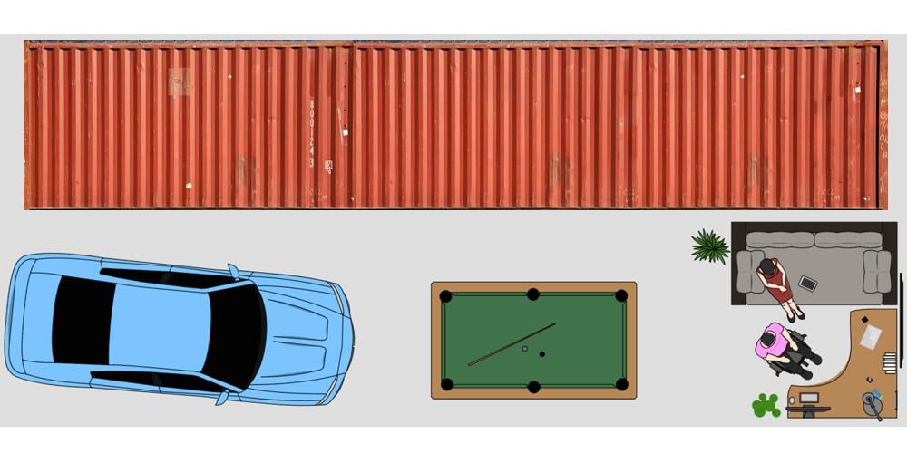 18x45 Self Storage in Altoona, IA