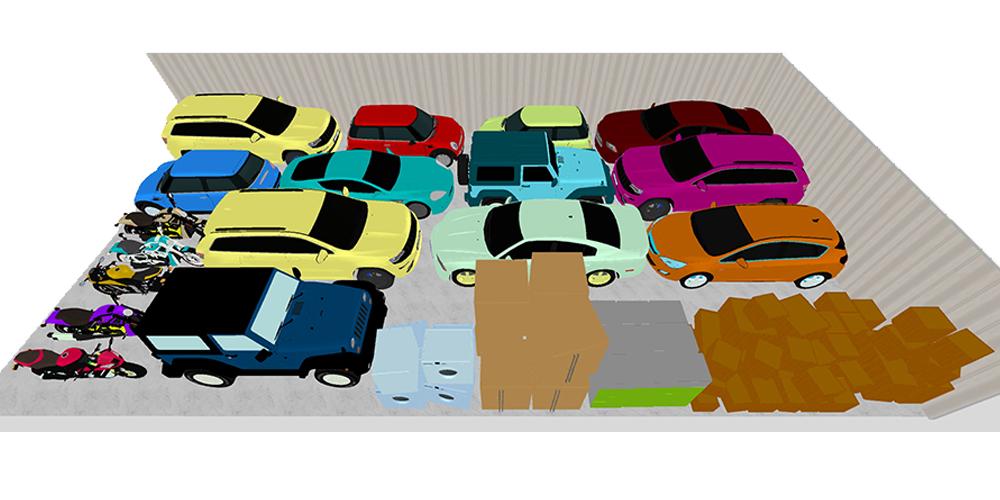 30x60 car Storage Unit Altoona, IA
